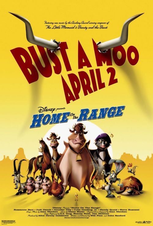 May 6th → #124 - Home on the Range (2004)Directed by Will Finn and John Sanford