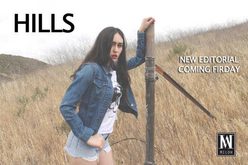 Check www.milohclothing.com this Friday to see our new editorial!