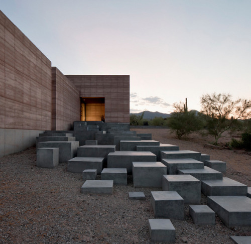 remash:  tucson mountain retreat | stairs ~ dust