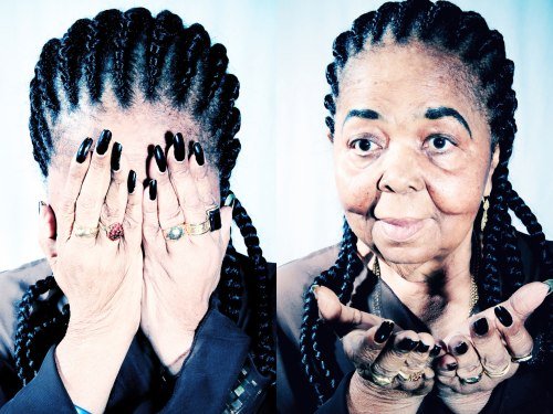 Portraits of the late Cesaria Evora, Cape Verde's most celebrated musician.