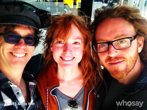 Ben and the Ginja Ninjas!  w @BenFolds & @TimMinchin View more Alicia Witt on WhoSay