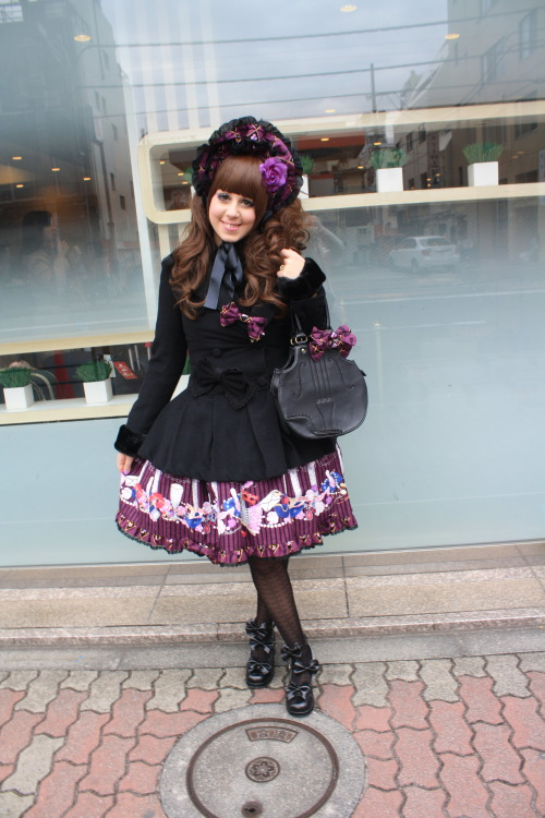 chokoichigo:  Today outfit December, 23th: Harajuku, Shinjuku