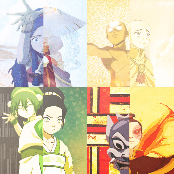 We all have disguises.   no sokka face paint?