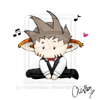 Audi: Mini Chibi Oddbrother -color- by *mscherbear