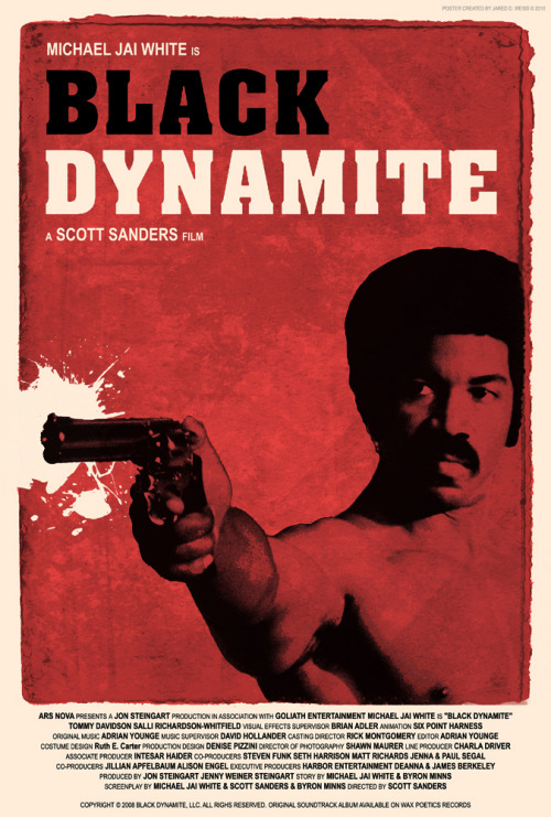 Black Dynamite by Jared D. Weiss