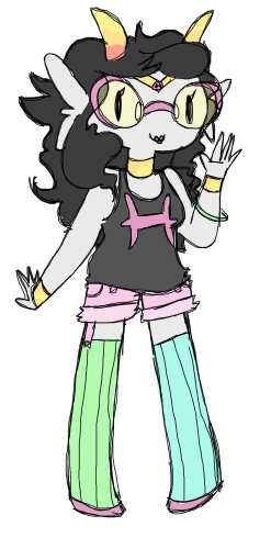 iconic-ironic:  i really like feferi with shorts ok
