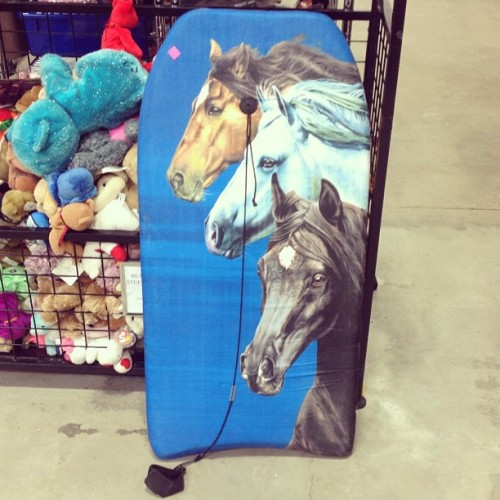 I'm 99% positive that THIS is the knee board Macklemore would have bought at the thrift store. #goodwill #poppintags