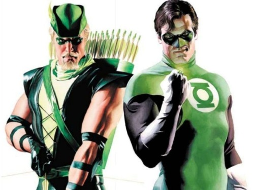 "Could Green Lantern Appear In ""Arrow""? There's a bit of a history between Green Lantern and Green Arrow teaming up in the comics, as well as appearing in each other's titles. SO could we see another shade green in the Arrow television show? According to Arrow Executive Producer Marc Guggenheim, it's at least been discussed.  ""I would never say never. It's certainly something that we've talked about. As with all DC characters, we have to figure out a way for those characters to fit within our Arrow universe. But when you consider the importance that Hal Jordan plays in the Green Arrow comics, it's certainly one of those names that we've discussed a great deal. I have Ryan Reynolds' phone number around here somewhere.""  What do you think? Would you like to see Green Lantern appear in Arrow? [Geek Tyrant] —— Featured:   Top 5 Best of Deadpool Friend Us: Facebook and Twitter"