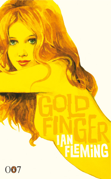 Goldfinger book cover #bond #007 #lit