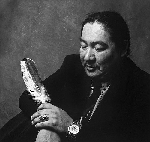 "RIP Elijah Harper 1949-2013: Iconic First Nations leader who said 'no' and changed the course of Canadian history (x).  In 1990, he held up an eagle feather in the Manitoba legislature and voted no to allowing the Meech Lake accord to come to vote. His opposition was viewed as a key moment in the accord's eventual fall. Harper felt First Nations people were not being recognized in the constitutional process in a meaningful way: ""The problem is we, as Aboriginal people, have not been dealt fairly, and also the governments have not dealt with the aboriginal issues the way we would like them to have. I think we have always been dealt with as second-class citizens and aboriginal nations are not a priority for first ministers and governments across this country."" His family released this statement. ""He will have a place in Canadian history, forever, for his devotion to public service and uniting his fellow First Nations with pride, determination and resolve. Elijah will also be remembered for bringing Aboriginal and non-Aboriginal people together to find a spiritual basis for healing and understanding. We will miss him terribly and Love him forever."" He was a hero among First Nations people who helped power the movement for Indigenous rights and equality. His legacy continues to inspire Native people across Canada today. He was a true example of being ""Idle No More"" over 20 years before the movement's birth. Wah-chay and meegwetch, Elijah Harper."