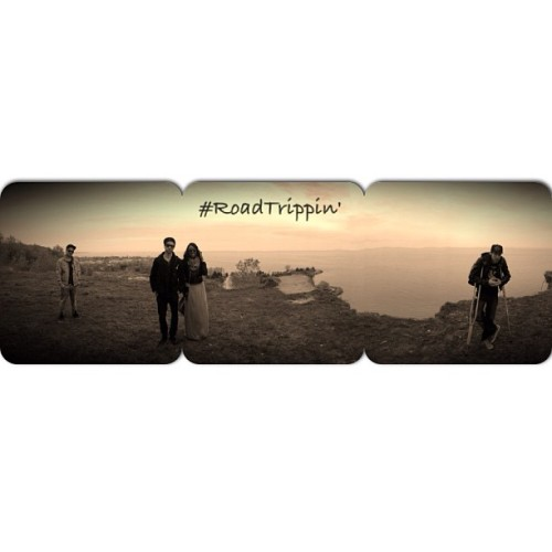 A dope self-panoramic shot (seriously, a pano-selfie) taken at the top of the Scarborough Bluffs during the #roadtrippin video on Tuesday. @themovementfam, Heavy Aux, @notionbaby, @illvibe and myself are dropping the official cover art for the single at 9pm EST tonight, with the audio to come next Friday, and the video the following Friday. We're doing a joint EP called #Life, which will take shape over the course of the rest of the year, via art/audio/video drops, one tune at a time, all with a focus on social media. I'm excited.
