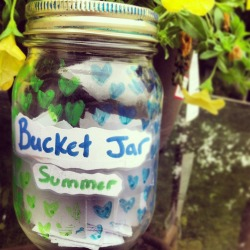 lizdd:  A cuter summer bucket list, in jar formation.