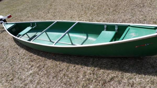 Coleman RAM-X Canoes: worth their weight in gold — 17' coleman