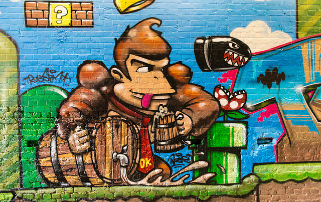 Donkey Kong On The Lash! on Flickr.