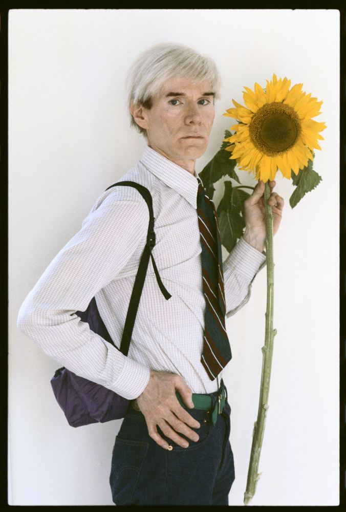 Andy Warhol,  Photo by Steve Wood