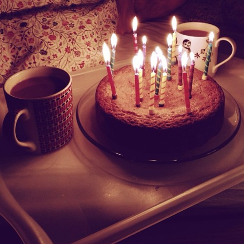 Happy Birthday @mat_with_1t !!!!!❤ PS Three candles ey? 😋