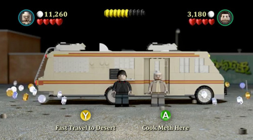LEGO Breaking Bad – best imaginary computer game ever?