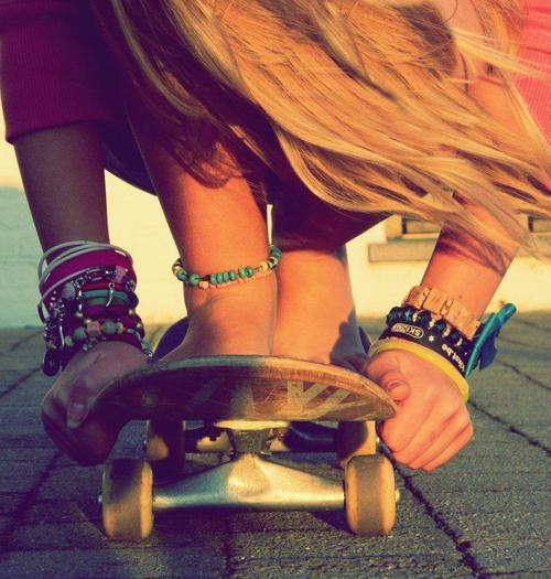 #longboard #blonde #girk #freedom #love #pasion #time #doit #behappy #pretty #tumblrican
