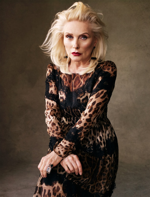deborahharry:  managementartists:  Victor Demarchelier photographs Debbie Harry for Vogue Spain, May 2013  There goes my heart, stopping again