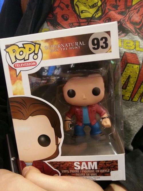 Yaay Bae got a Sam!