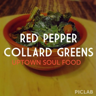 Have you tried them yet? The Red Pepper Collard Green recipe is available at uptownsoulveg.com #vegan #whatveganseat #healthy #vegansofig #food #fitness #vegetarian