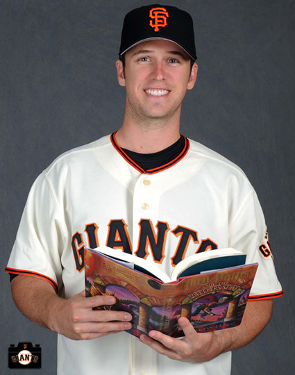sfgiantsgirl19:  BUSTER READING HARRY POTTER  2 OF MY FAVORITE THINGS IN LIFE