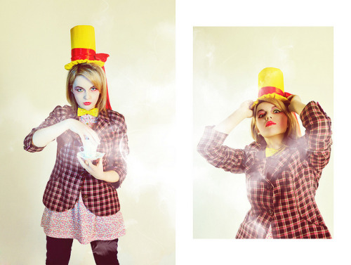 Mad Mad Hatter on Flickr.Via Flickr:Model: EmilyMUAH: Euge EvdokimovaPhoto&Edit: Dasha Summermy site | twitter | deviantART | facebook
