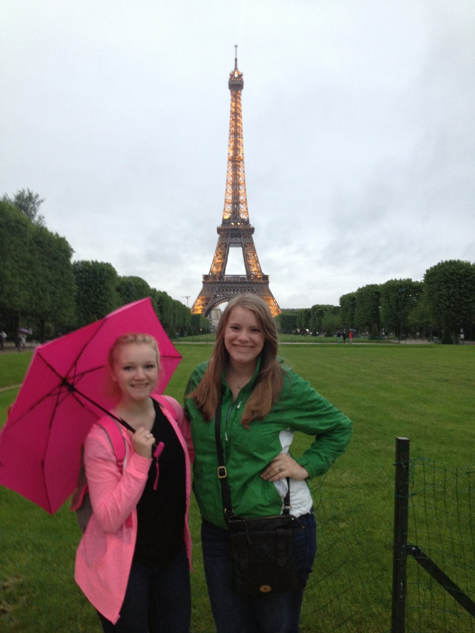 Eiffel Tower with my hetero lifemate.