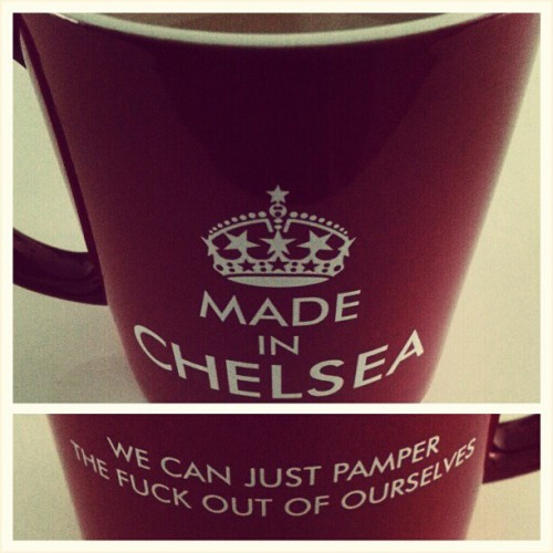 Enjoying A Cup Of Tea In My #MadeInChelsea Mug…