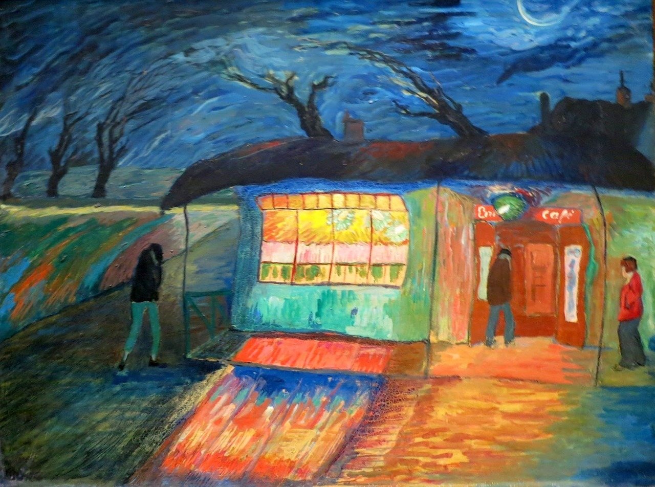 Marianne Von Werefkin,(b Russia,1860 d Switzerland 1938)