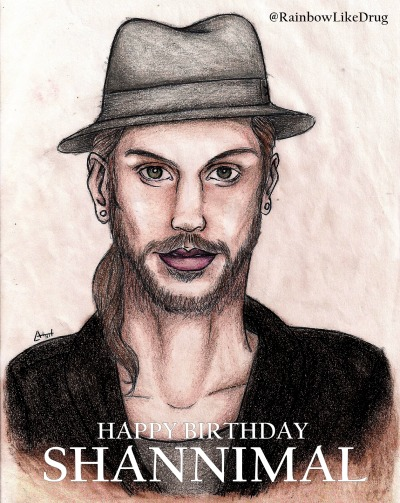 Another drawing for the Shannimal's Birthday :)
