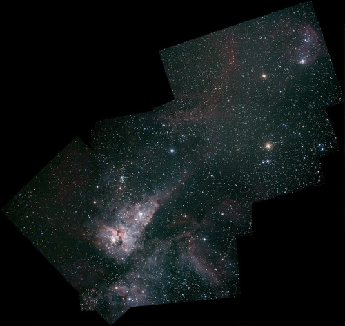 Eta Carina - through to ngc3324 Stitch by rustigsmed on Flickr.