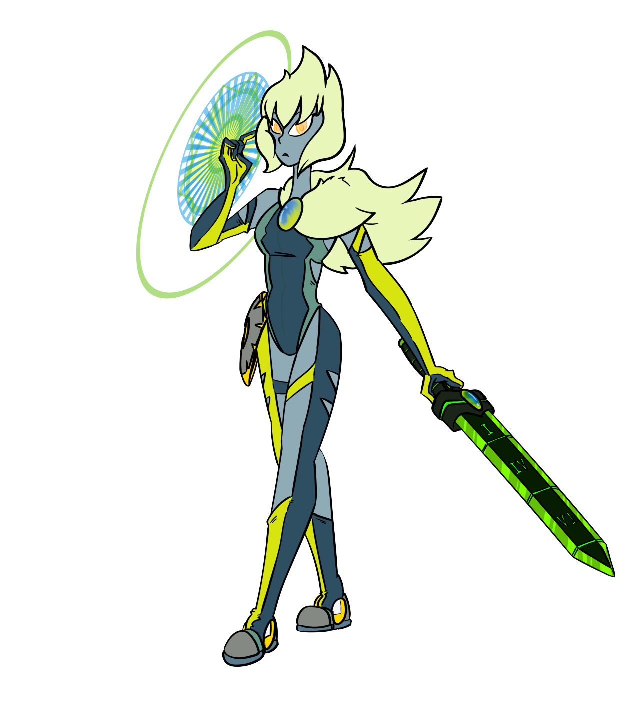 """Peridox the Time-Mender"" While not the Main-Protagonist, the gem ""Peridox"" will play a key role in the Paradox Universe SU AU Fan-Comic that i will start this summer. ""Peridox"" is ofcourse just a..."