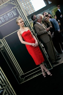 "labellefabuleuse:  Carey Mulligan in Lanvin at ""The Great Gatsby"" premier in NYC"