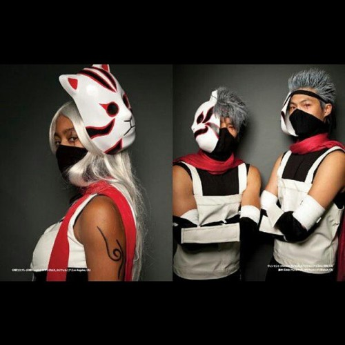 #throwback #Thursday to that time I found out I was going to be in @cosplayamerica  book #cosplay #snj #ninja #kakashi #cosplayinamerica #photobook
