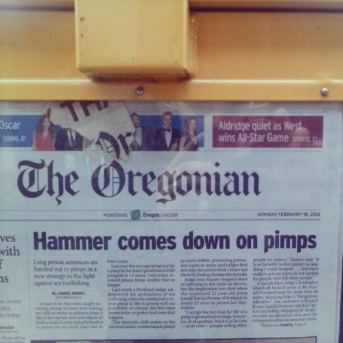 Why I love the Oregonian.