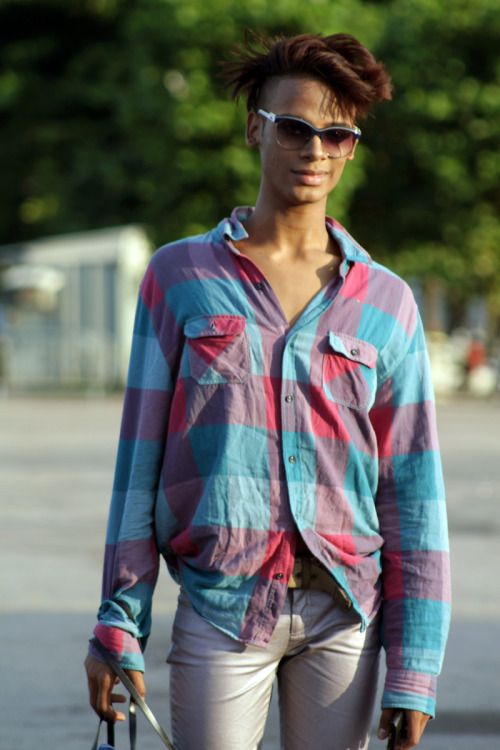 @ Fashion Rio SS 13 | 14  Outside the shows Credits: Clara Ungaretti