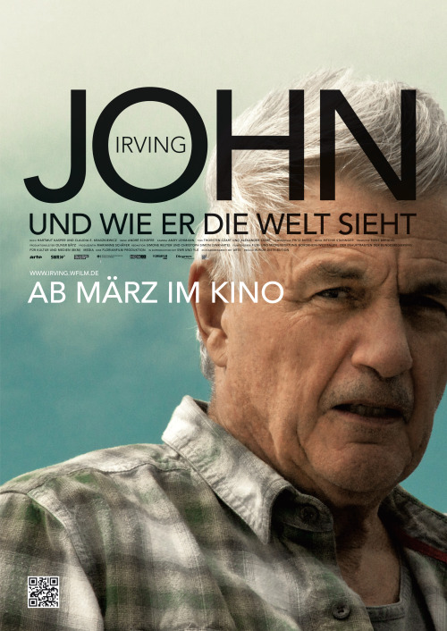 My second film of 2013 was John Irving und wie er die Welt sieht*: a German-made documentary about my favourite living author, John Irving. While the film lacks narrative structure and doesn't quite probe its fascinating subject to my satisfaction, it does contain a lot of drool-worthy material for the committed Irving fan (including scenes in which he makes pizza, explorations of Vienna and Amsterdam as represented in The Hotel New Hampshire and Until I Find You, and many a walks in Vermont with Dickens, Irving's old chocolate Labrador).  *This is a play on the German title of The World According to Garp - Garp und wie er die Welt sah. If you don't know what I'm talking about, you better get reading.