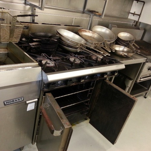 Good gear in its day. This old #CateringEquipment headed on another journey as a new #Kitchen #Bar #Restaurant begins to emerge with its own vision #StayTuned #Design