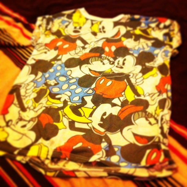 New Mickey Mouse tee 😁❤ #mickey #minnie #primark #baggytee