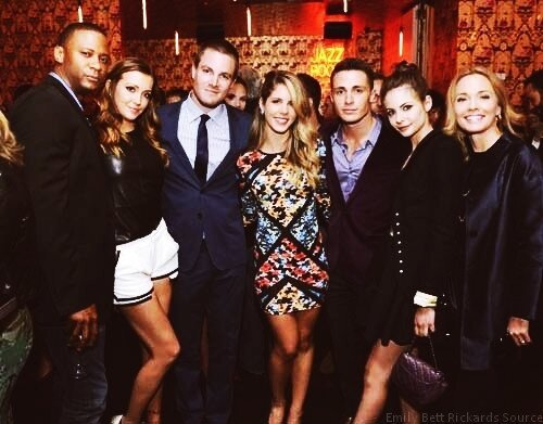unspokenbond:  Arrow Family [x]  <3
