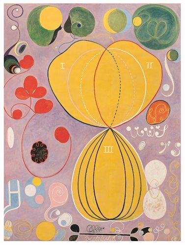 Group IV, No. 7, Adulthood by Hilma af Klint (via NYTimes.com)