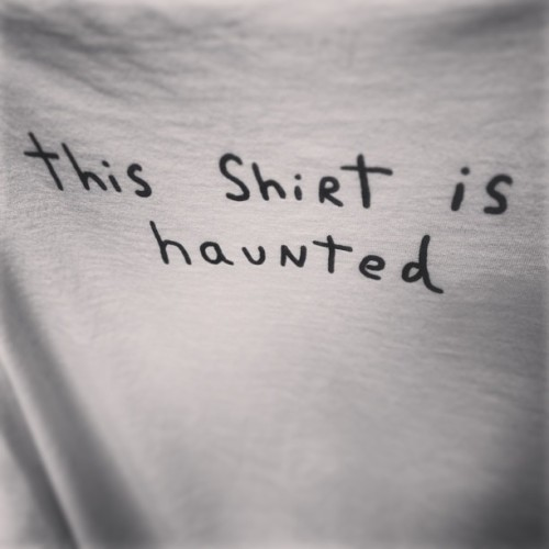 kampire:  I always forget about this t-shirt but it's my fave 👻