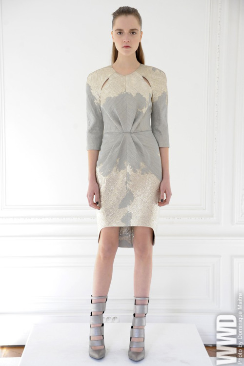 lovely dress womensweardaily:   Arzu Kaprol RTW Fall 2013