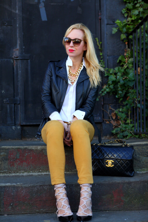 Fashion blogger Helena of Brooklyn Blonde…
