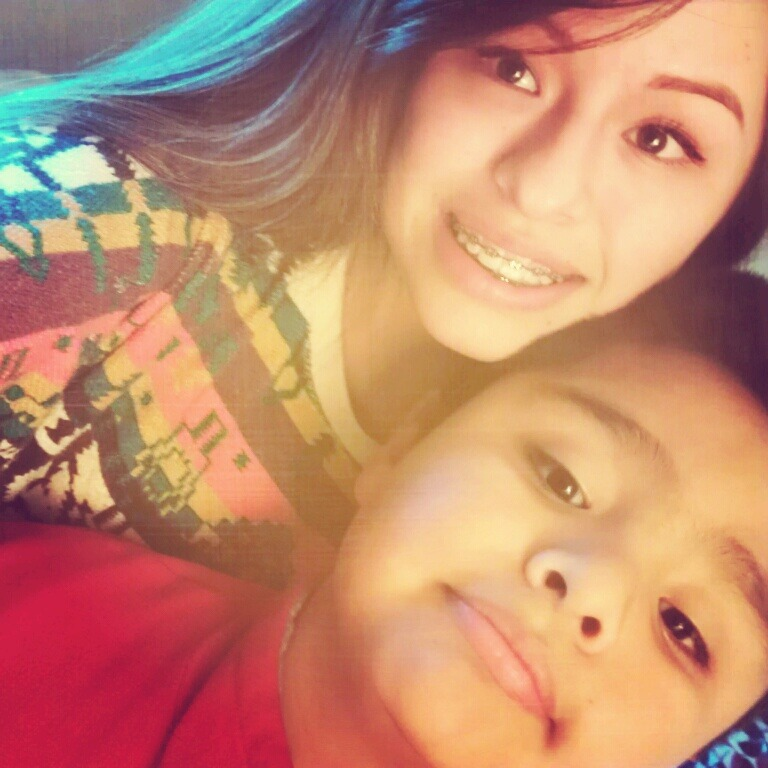 I love my little brother with all my heart<3 I can't believe hes 9. :( he grew up way to fast! He seriously needs to stop!
