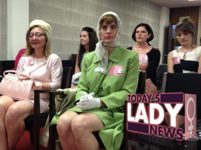 "Women Don '60s ""Mad Men"" Costumes To Protest North Carolina Birth Control Refusal Bill"