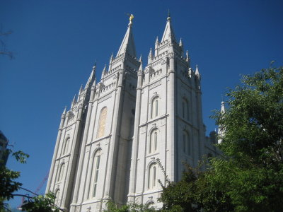 Day 4: Tuesday, July 28, 2009 Location: [ Salt Lake Temple, Temple Square, Salt Lake City, UT ]