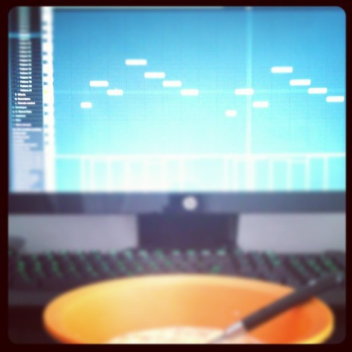 Just made a #Trill ass RnB Beat for Breakfast