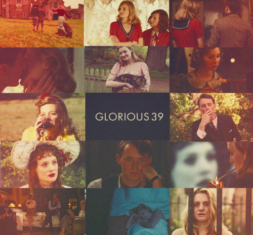 mrslovettspie:  • Glorious 39 (2009)